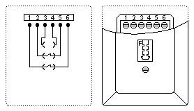 Bekannt 1 TAE Dose: Belegung / Telefon Stecker: Anschluss, Steckerbelegung MH51