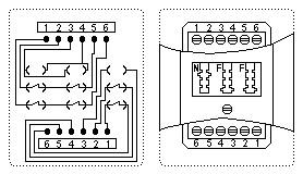 Super 1 TAE Dose: Belegung / Telefon Stecker: Anschluss, Steckerbelegung TR66